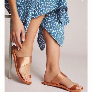 beek by two birds | Finch Leather Slide-on Sandal